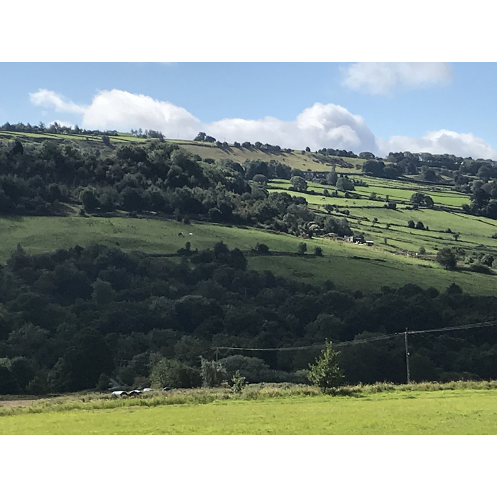 Views over the stunning Loxley Valley